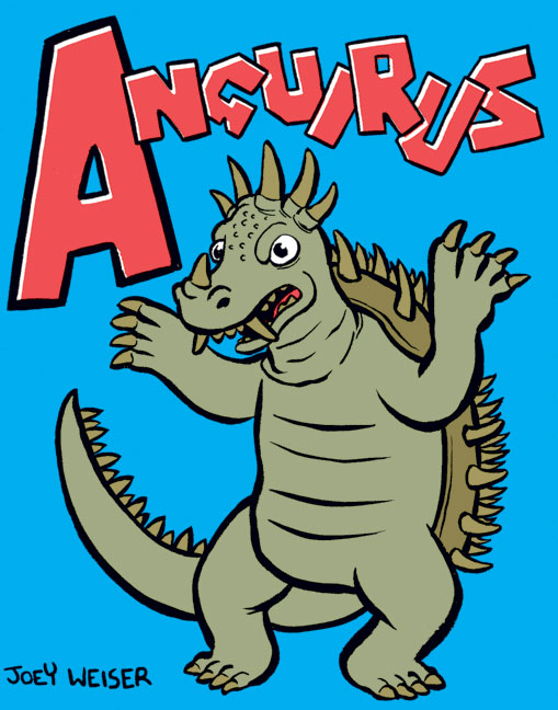 A is for Anguirus