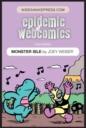 Monster Isle on Wide Awake Press
