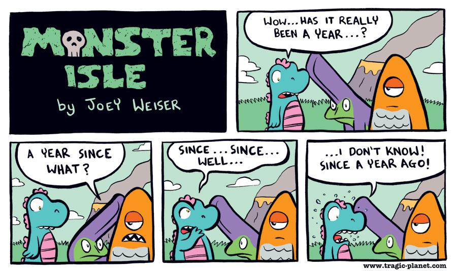 Happy Birthday Monster Isle!