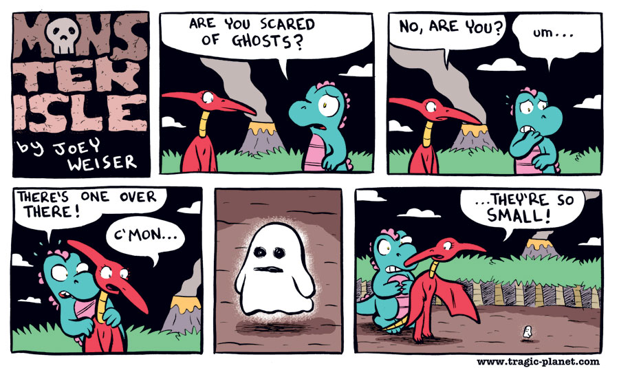 Are You Scared of Ghosts?